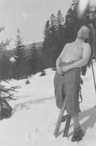Na lyžích (nedatováno)