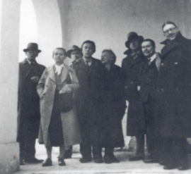 S francouzskými a českými surrealisty (1935)